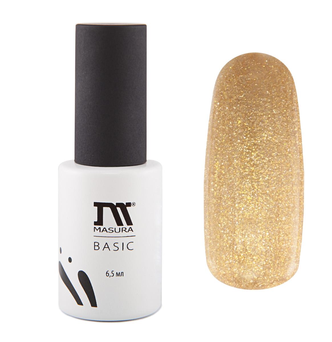 Masura Гель-лаки BASIC Загадка Востока, 6,5 мл294-96Насыщенный золотой, все теплые оттенки золота, плотный