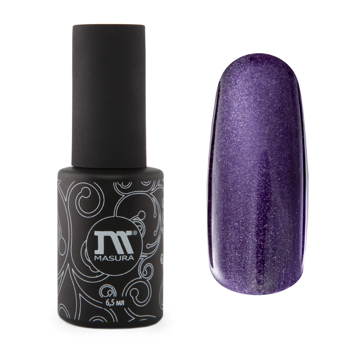 Masura Гель-лак Аметисты Ришелье, 6,5 мл295-08темно-фиолетовый, с зеркальным переливом, плотный