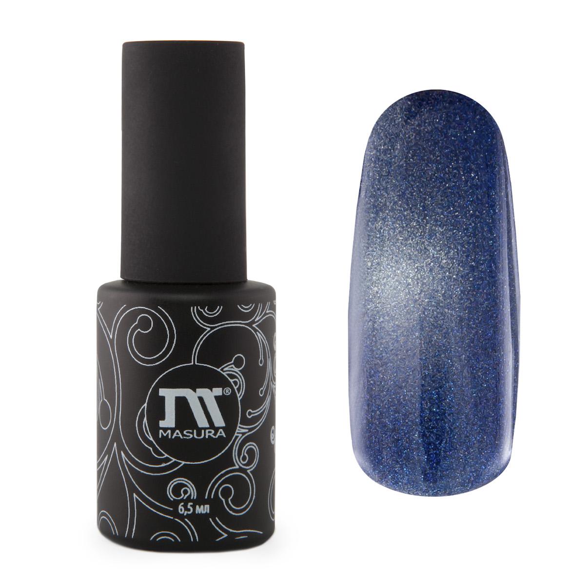 Masura Гель-лак Британский Сапфир, 6,5 мл295-09дымчато-синий, с зеркальным переливом, плотный