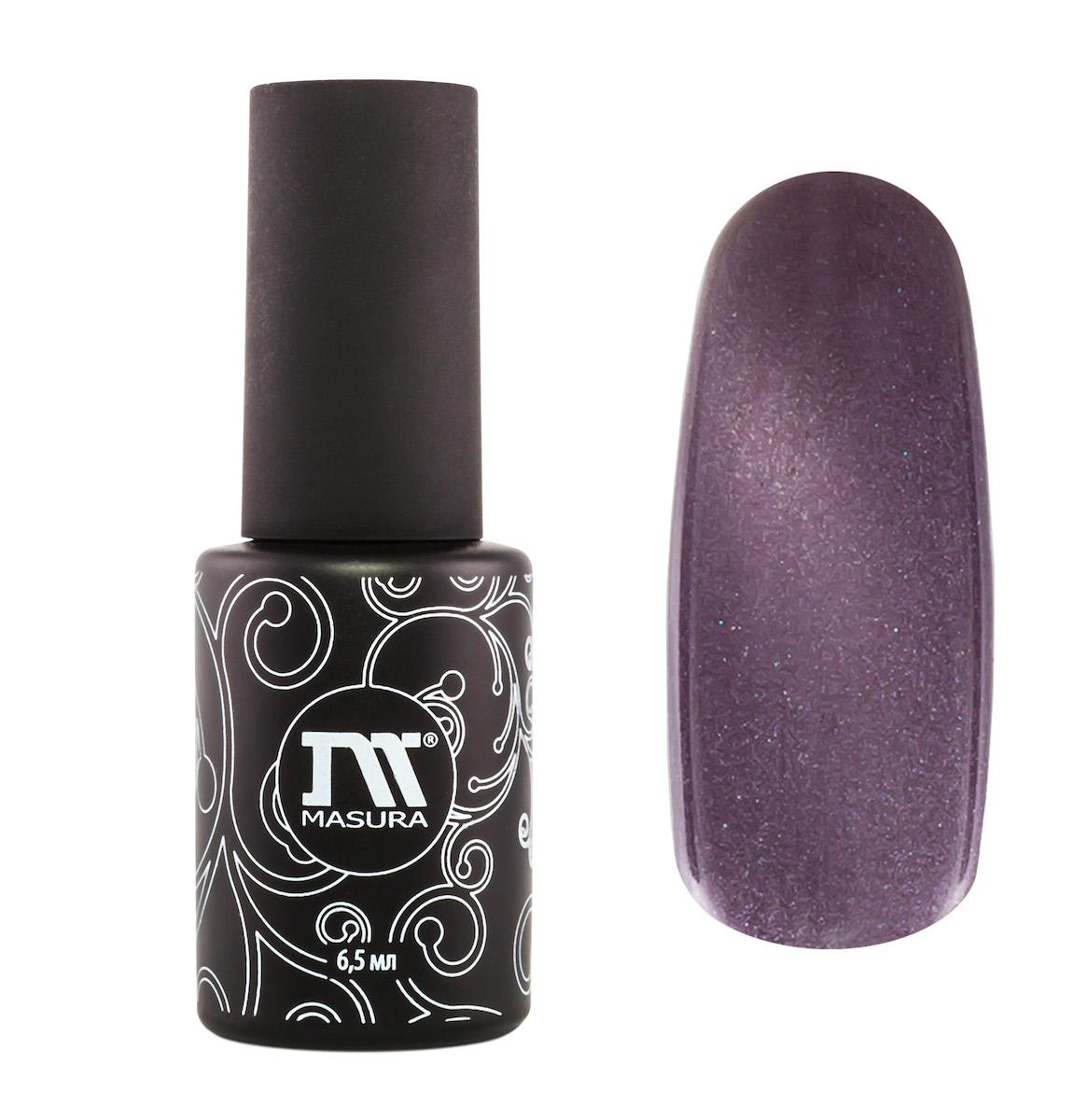 Masura Гель-лак Перстень Розовый Графф, 6,5 мл295-12дымчато-розовый с малиновым подтоном, с зеркальным переливом, плотный
