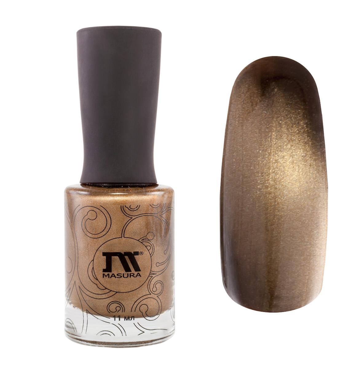 Masura Лак для ногтей Тиговый глаз, 11 мл904-110золотой песок
