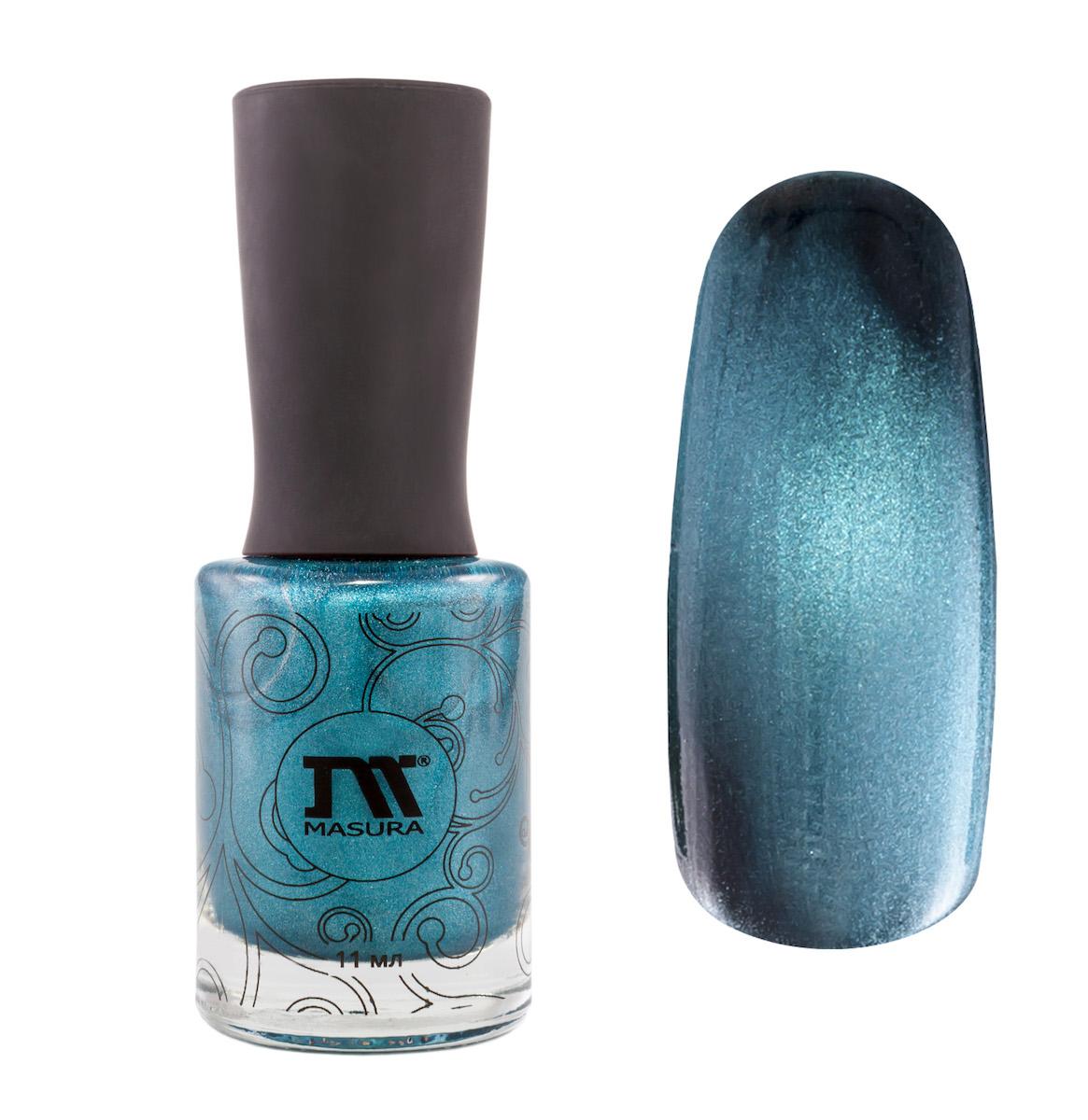 Masura Лак для ногтей Небесный Сапфир, 11 мл904-119небесно-синий