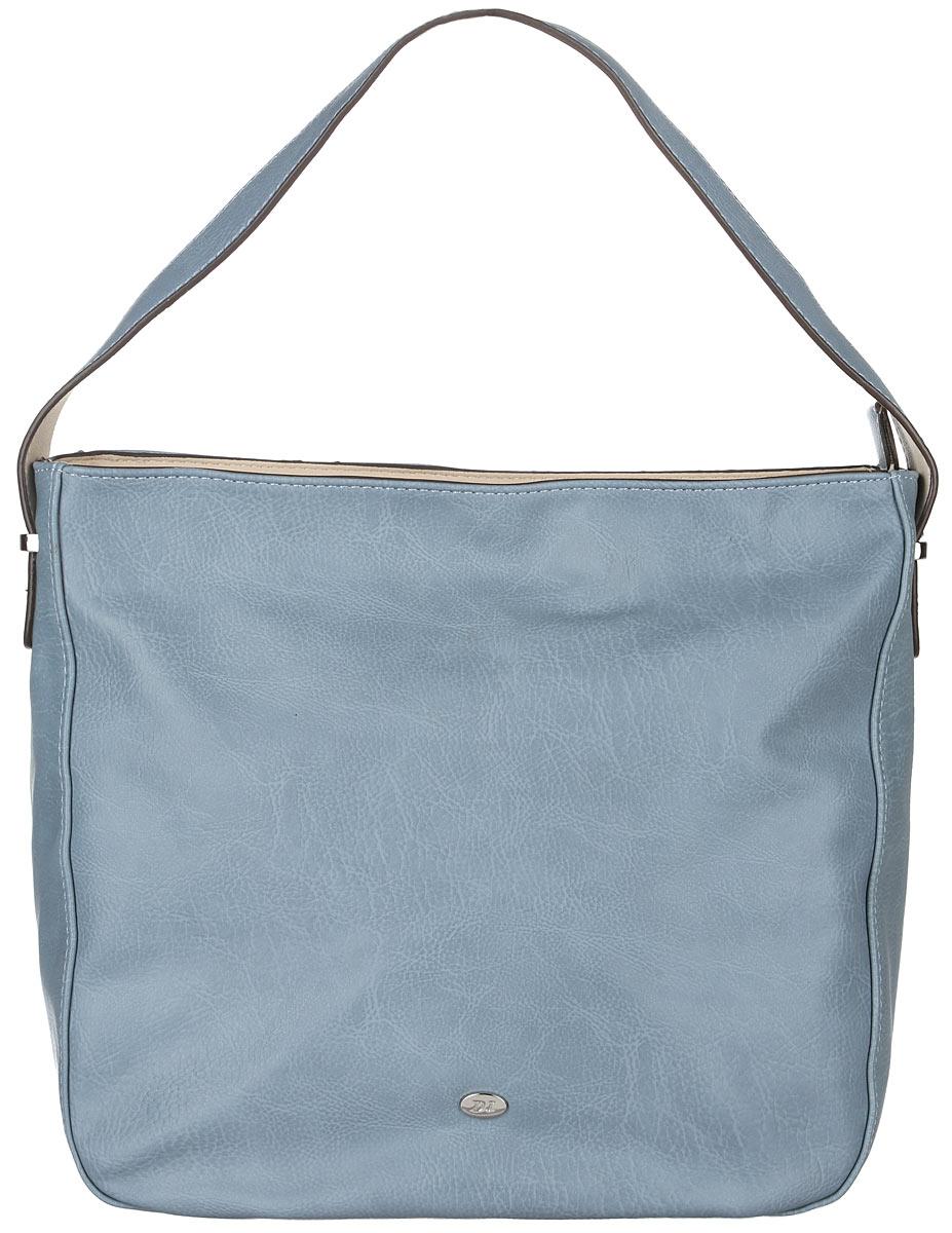 Сумка женская David Jones, цвет: серо-голубой, бежевый. 5007-15007-1 TURQUOISEСтильная женская сумка David Jones выполнена из искусственной кожи. Изделие имеет одно отделение, закрывающееся на застежку-молнию. Внутри сумки находятся накладной открытый карман и прорезной карман на застежке-молнии. Снаружи, на задней стенке расположен прорезной карман на застежке-молнии. Сумка оснащена одной ручкой. Модная сумка идеально подчеркнет ваш неповторимый стиль.