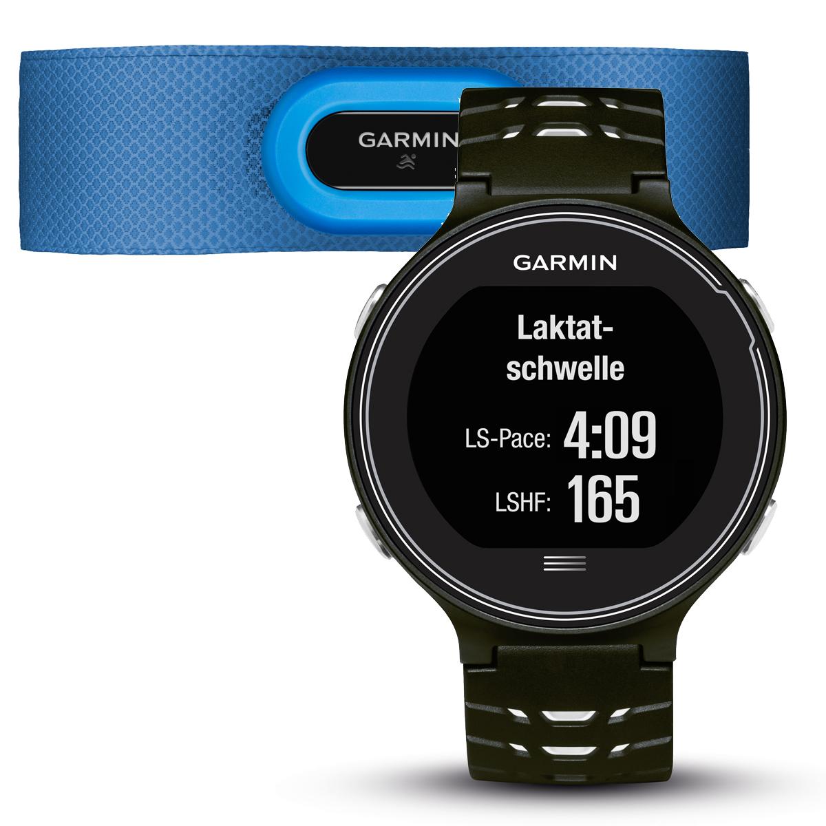 Спортивные часы Garmin Forerunner 630 HRM, цвет: черный. 010-03717-30