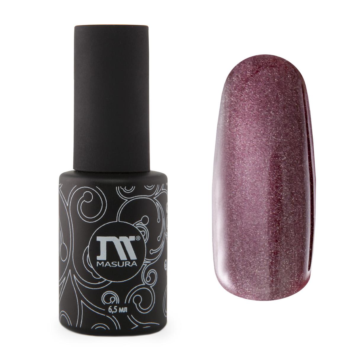 Masura Гель-лак ганаты Миледи, 6,5 мл295-06пурпурно-малиновый, с зеркальным переливом, плотный