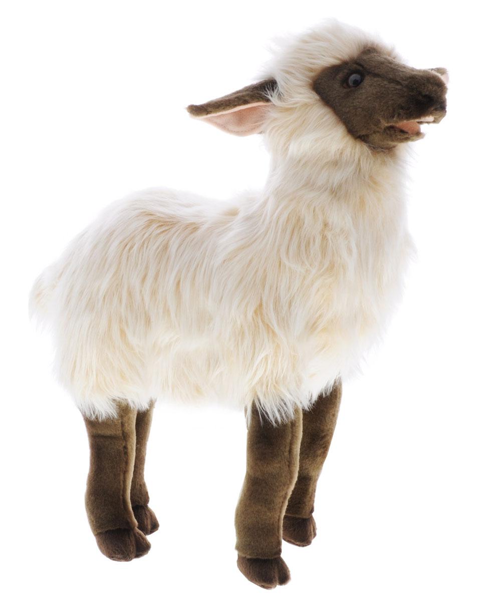 Hansa Toys Мягкая игрушка Ягненок 47 см3631Ягненок - парнокопытное млекопитающее из рода баранов семейства полорогих. Эти очень полезные животные были одомашнены уже в глубокой древности. Из их густой мягкой шерсти изготавливают ткани, шьют одежду и одеяла. Некоторые породы овец разводятся ради мяса. Жители многих стран мира пьют овечье молоко, из которого, кроме того, изготавливают сыр. Домашние овцы живут большими стадами - отарами. Отару возглавляет старый баран, за которым следуют все остальные члены стада. Пасти овец людям нередко помогают специально обученные собаки некоторых пород. На воле живут дикие бараны, они обитают в Австралии, Новой Зеландии и Южной Америке. Мягкая игрушка Hansa Toys Ягненок обязательно понравится вам и вашему малышу и познакомит вас с этим удивительным животным.