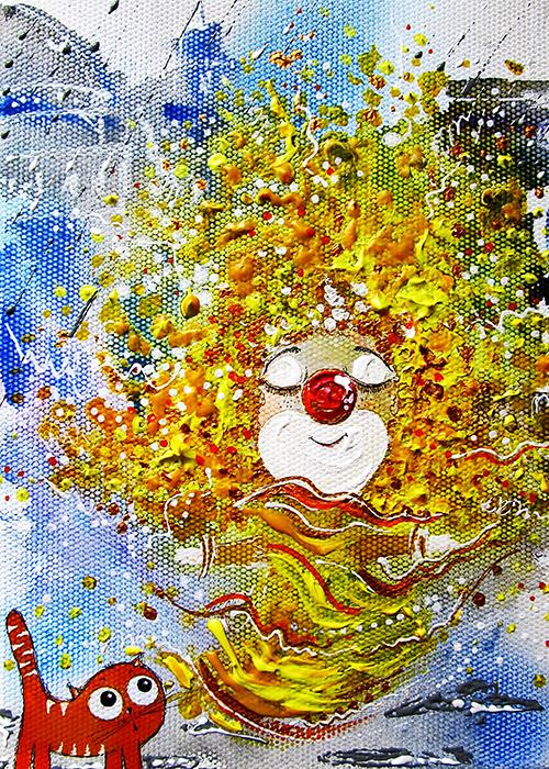 Большая авторская открытка Солнышко, размер: 15 х 21 см. Автор Ирина БастБОСРазмер большой открытки: 15 х 21 см. Открытка напечатана на фактурной льняной бумаге. Она теплая и приятная на ощупь