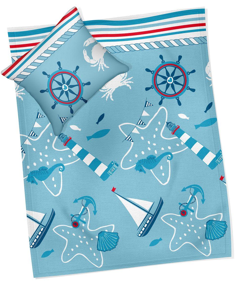 Коллекция Комплект белья для новорожденных Кораблик