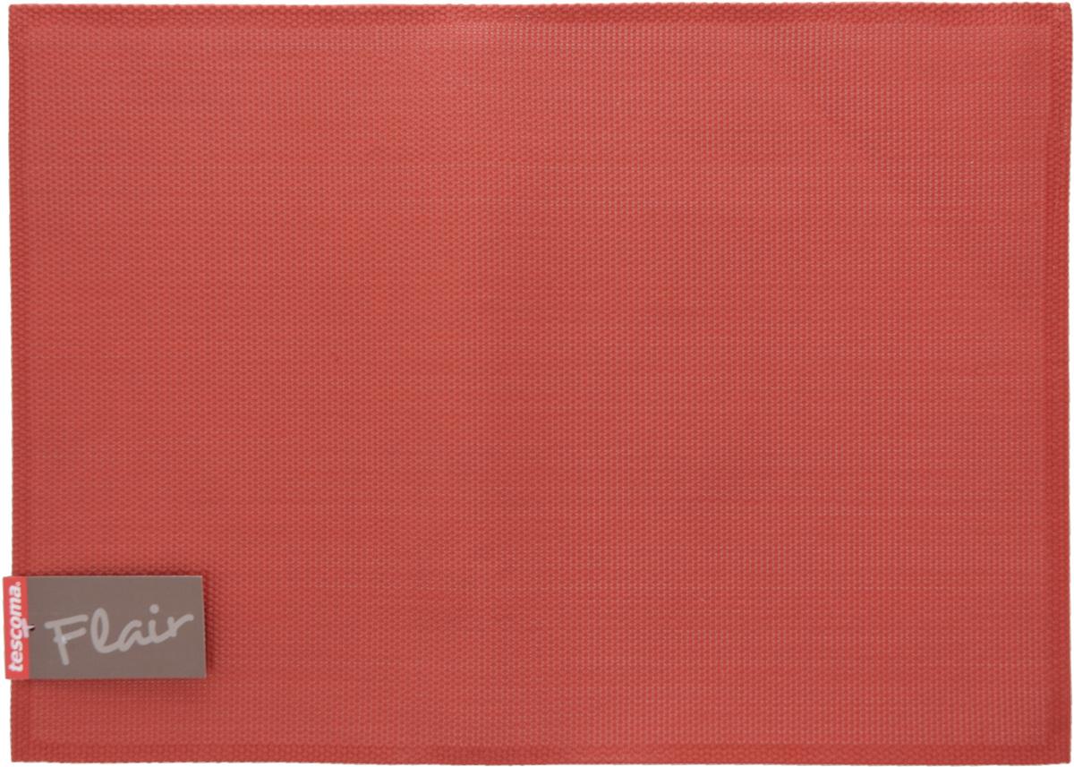 Салфетка сервировочная Tescoma Flair, цвет: гранатовый, 45 х 32 см662014Сервировочная салфетка Tescoma Flair изготовлена из прочной синтетической ткани. Идеально подходит для сервировки стола, также может использоваться как подставка под горячее. Выдерживает максимальную температуру до 80°С. Элегантная сервировочная салфетка изысканно украсит вашу кухню. После использования ее достаточно протереть чистой влажной тканью или промыть под струей воды и высушить. Не мыть в посудомоечной машине.