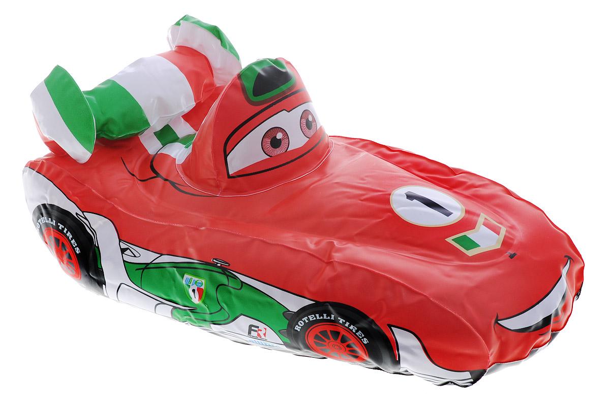Intex Игрушка надувная Cars цвет красный белый зеленый 30 см х 18 смint58599NP_красный, белый, зеленыйИгрушка надувная Intex Cars предназначена для плавания и веселых игр на воде. Игрушка выполнена из прочного материала ярких цветов в виде персонажа известного мультфильма Тачки. Эта красочная надувная игрушка станет незаменимым атрибутом летнего отдыха. Изделие поставляется в сдутом виде. Всего несколько порций воздуха и восхитительная игрушка готова!