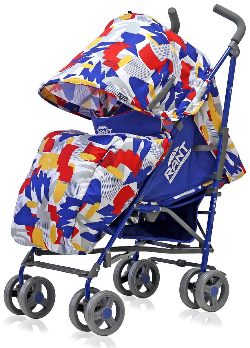 Rant Коляска прогулочная Arin цвет синий4630008879481Детская прогулочная коляска-трость ARIN от торговой марки RANT для детей от 6 месяцев до 3-х лет. Одна из самых легких и компактных моделей в классе прогулочных колясок. Большой капюшон и накидка на ножки полностью укрывает спящего малыша. В капюшоне предусмотрено смотровое окошко и большой карман для мелочей. Спинка и подножка прогулочной коляски регулируются по высоте, для удобства расположения ребенка в коляске. Защитой ребенка во время прогулки служит пятиточечный ремень безопасности и ручка-бампер (съемная). В сложенном виде коляска занимает мало места, легко транспортируется, имеет ручку-переноску.