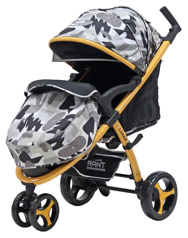 Rant Коляска прогулочная Lunar цвет серый4630008879719Трехколесная прогулочная коляска Rant Lunar - одна из самых популярных моделей, станет незаменимым помощником для малышей от шести месяцев до трех лет. Практичная, легкая и комфортная коляска выполнена в спортивном стиле. Прогулки с малышом будут приносить удовольствие и комфорт с данной коляской. Благодаря тому, что спинка сиденья фиксируется в нескольких положениях, а наклон регулируется до горизонтального положения, ваш малыш всегда примет удобную позу для сна и для прогулки. Сиденье дополнено мягким вкладышем, который сохранит тепло и комфорт малыша. Вкладыш оснащен дополнительной боковой поддержкой в области плеч и ног, что помогает фиксировать правильное положение спины и формировать осанку ребенка. Увеличенный складной капюшон коляски защитит вашего ребенка от солнца и ветра. Задняя стенка капюшона на молнии, легко снимается для проветривания. Для безопасности малыша предусмотрены пятиточечные ремни безопасности с мягкими накладками. Утепленная мягкая накидка на...
