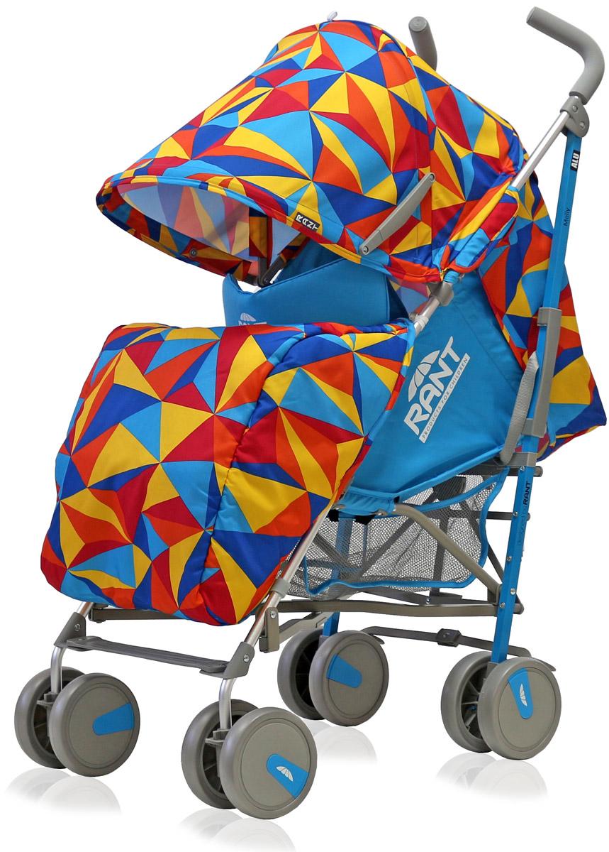 Rant Коляска прогулочная Molly Alu цвет голубой4630008879733Детская прогулочная коляска -трость Molly для детей от 6 месяцев до 3-х лет. Легкая, удобная коляска подходит для ежедневных прогулок с малышом на свежем воздухе, для дальних путешествий или шопинга. Большой капюшон со смотровым окошком и карманом, теплая накидка на ножки, регулируемые по высоте спинка и подножка коляски, позволяют уютно и комфортно расположиться малышу в коляске. Защитят ребенка во время прогулки пятиточечные ремни безопасности. Облегченная алюминиевая рама, пластиковые колеса, узкая колесная база позволяют без труда преодолевать разного рода препятствия (дверные, лифтовые проемы, бордюры, лестницы). Коляска-трость Molly из-за облегченной конструкции и небольших габаритов компактно складывается «тростью», удобна при транспортировке.