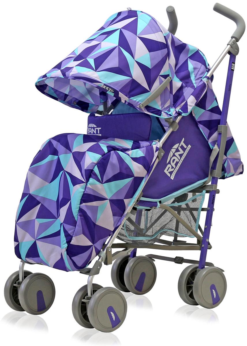Rant Коляска прогулочная Molly Alu цвет фиолетовый4630008879757Детская прогулочная коляска-трость Molly для детей от 6 месяцев до 3-х лет. Легкая, удобная коляска подходит для ежедневных прогулок с малышом на свежем воздухе, для дальних путешествий или шопинга. Большой капюшон со смотровым окошком и карманом, теплая накидка на ножки, регулируемые по высоте спинка и подножка коляски, позволяют уютно и комфортно расположиться малышу в коляске. Защитят ребенка во время прогулки пятиточечные ремни безопасности. Облегченная алюминиевая рама, пластиковые колеса, узкая колесная база позволяют без труда преодолевать разного рода препятствия (дверные, лифтовые проемы, бордюры, лестницы). Коляска-трость Molly из-за облегченной конструкции и небольших габаритов компактно складывается «тростью», удобна при транспортировке.