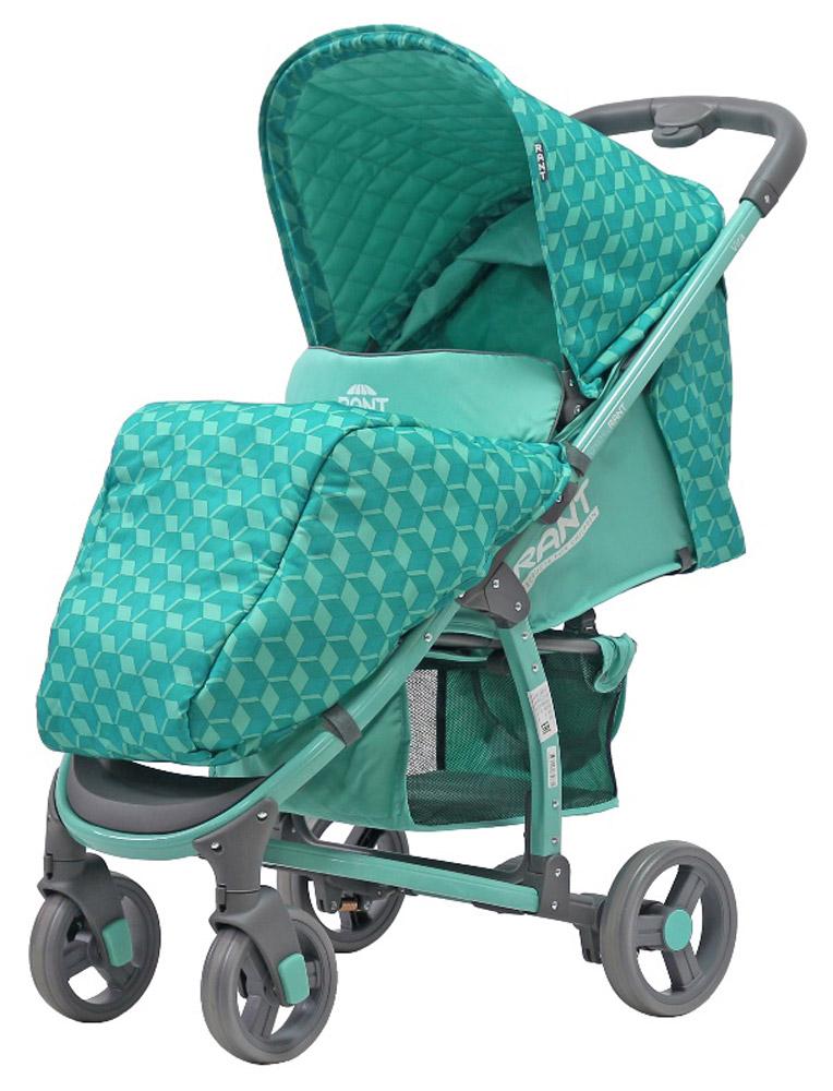 Rant Коляска прогулочная Vira Alu цвет бирюзовый4630008879771Прогулочная коляска VIRA для детей от 6 месяцев до 3-х лет. Функциональная и удобная коляска VIRA обладает отменными эксплуатационными качествами и надежностью. Прогулочный блок для подросшего малыша имеет достаточно широкое и комфортное посадочное место. Спинка сиденья имеет плавную и многоуровневую регулировку с помощью ремня. Предусмотрено положение для сна. Коляска адаптирована к прогулкам в любое время года. От солнца, ветра или осадков защищает увеличенный капюшон и накидка на ножки. Съемная ручка-бампер (ручка перед ребенком) легко снимается полностью, либо его можно откинуть на одну сторону, чтобы посадить ребенка в коляску. Обезопасят малыша в коляске регулируемые пятиточечные ремни безопасности с мягкими плечевыми накладками. Для удобства родителей на раме предусмотрен подстаканник для бутылочки и вместительная корзина для детских принадлежностей или покупок. За счет облегченной алюминиевой рамы коляска легкая и удобная. Имеет узкую колёсную базу - всего...