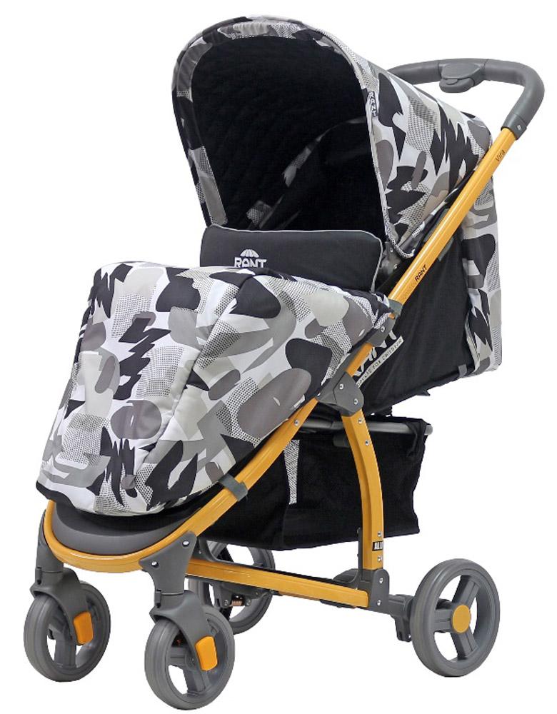 Rant Коляска прогулочная Vira Alu цвет черный4630008879795Прогулочная коляска VIRA для детей от 6 месяцев до 3-х лет. Функциональная и удобная коляска VIRA обладает отменными эксплуатационными качествами и надежностью. Прогулочный блок для подросшего малыша имеет достаточно широкое и комфортное посадочное место. Спинка сиденья имеет плавную и многоуровневую регулировку с помощью ремня. Предусмотрено положение для сна. Коляска адаптирована к прогулкам в любое время года. От солнца, ветра или осадков защищает увеличенный капюшон и накидка на ножки. Съемная ручка-бампер (ручка перед ребенком) легко снимается полностью, либо его можно откинуть на одну сторону, чтобы посадить ребенка в коляску. Обезопасят малыша в коляске регулируемые пятиточечные ремни безопасности с мягкими плечевыми накладками. Для удобства родителей на раме предусмотрен подстаканник для бутылочки и вместительная корзина для детских принадлежностей или покупок. За счет облегченной алюминиевой рамы коляска легкая и удобная. Имеет узкую колёсную базу - всего...