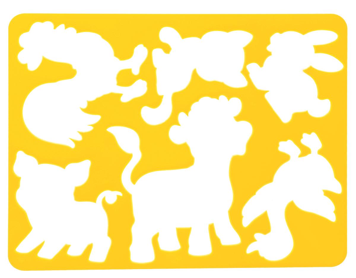 Луч Трафарет прорезной Веселое подворье цвет темно-желтый10С 568-08_темно-желтыйТрафарет Луч Веселое подворье, выполненный из безопасного пластика, предназначен для детского творчества. По трафарету Веселое подворье юный художник сможет нарисовать различных домашних животных и сюжеты с ними. Для этого необходимо положить трафарет на лист бумаги, обвести фигуру по контуру и раскрасить по своему вкусу или глядя на цветную картинку-образец. Трафареты предназначены для развития у детей мелкой моторики и зрительно-двигательной координации, навыков художественной композиции и зрительного восприятия.