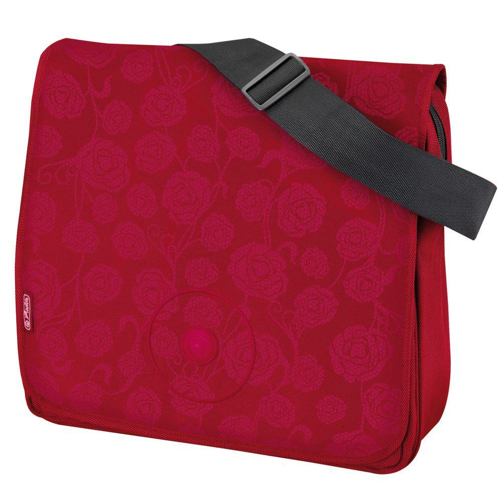 Herlitz Школьная сумка BE.BAG Red Roses11281482Прочная и вместительная сумка Be.bag смотрится элегантно в любой ситуации . Идеальный выбор для школы , университета или досуга.
