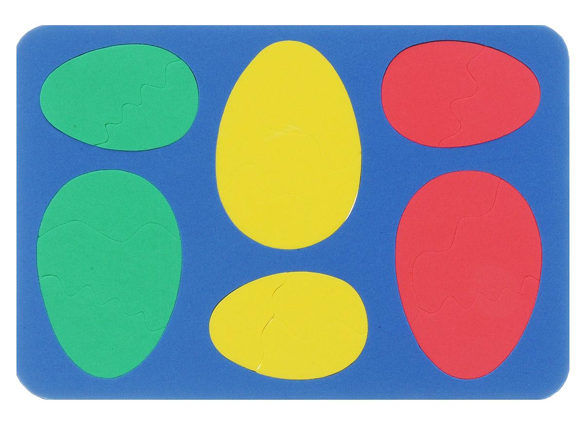 Бомик Пазл для малышей Яйца цвет основы синий111Пазл для малышей Бомик Яйца выполнен из мягкого полимера, поэтому его детали легко гнутся и не ломаются, их всегда можно состыковать. Пазл представляет собой основу, в которой из элементов разной формы, размеров и цветов собираются яйца. Ваш ребенок может собирать его и в ванной. Элементы можно намочить, благодаря чему они будут хорошо прилипать к стене в ванной комнате. Пазлы способствуют развитию моторики пальцев и рук ребенка, развивают координацию движений, обостряют внимание, улучшают память, помогают научиться воспринимать детали, как часть целого, развивают фантазию и пространственное мышление.