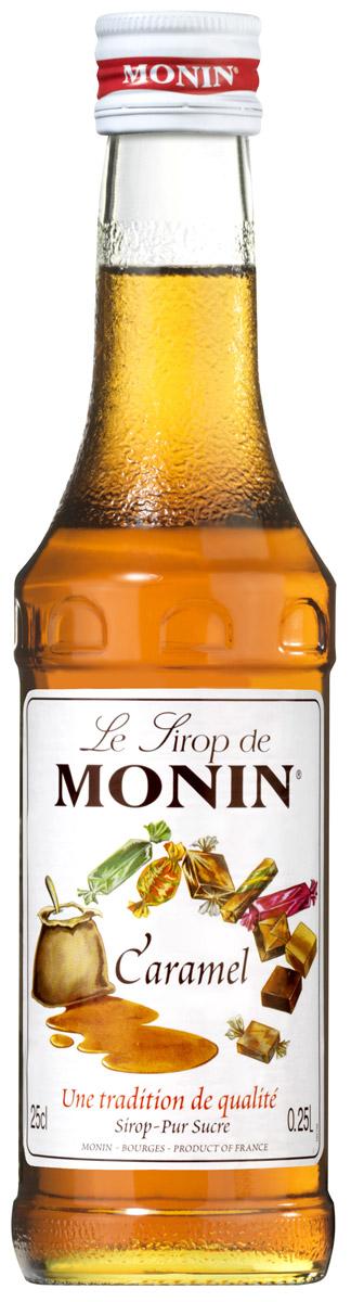 Monin Карамель сироп, 0,25 лSMONN0-000096Карамель просто означает карамелизированный сахар, традиционно получаемый с помощью плавления сахара в кастрюле с водой. Богатый вкус и цвет карамели вытекают из процесса нагревания и плавления сахара. Карамель ценится в качестве основного аромата, а также используется в гармонии с другими ароматами. С сиропом Monin Карамель возможны многочисленные приложения. Отлично сочетается с кофе, молочными коктейлями и десертными напитками. Сиропы Monin выпускает одноименная французская марка, которая известна как лидирующий производитель алкогольных и безалкогольных сиропов в мире. В 1912 году во французском городке Бурже девятнадцатилетний предприниматель Джордж Монин основал собственную компанию, которая специализировалась на производстве вин, ликеров и сиропов. Место для завода было выбрано не случайно: город Бурже находился в непосредственной близости от крупных сельскохозяйственных районов - главных поставщиков свежих ягод и фруктов. ...