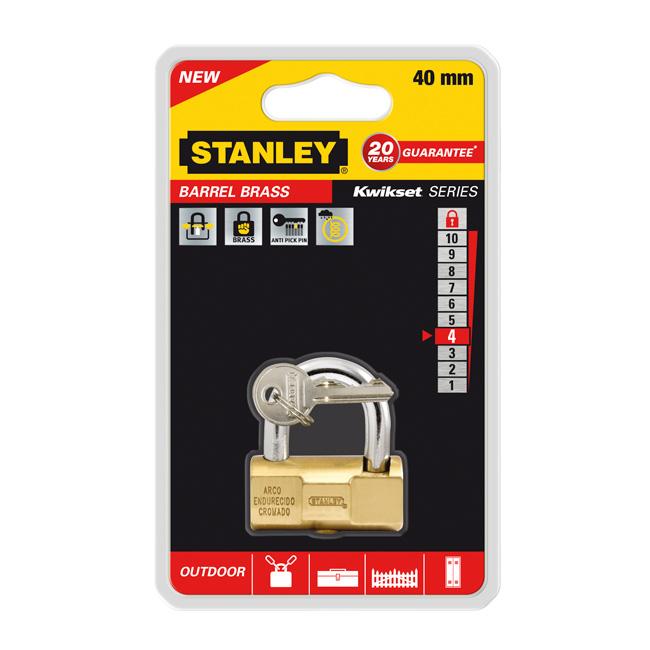 Замок Stanley Barrel повышенной безопасности, 40 мм . S742-046S742-046Замки для использования на улице