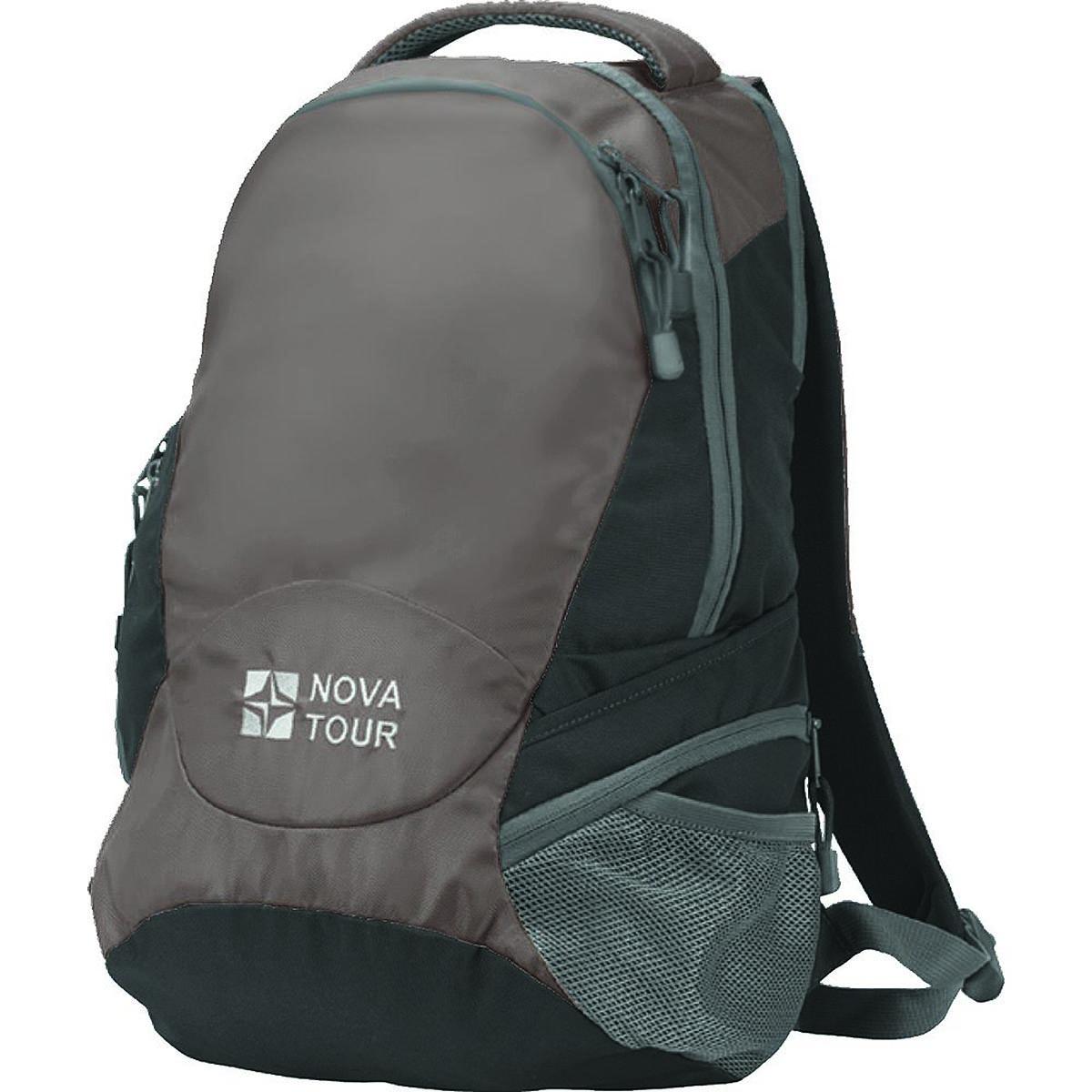 Рюкзак городской Nova Tour Атом 22, цвет: темно-коричневый, 22 л13372-219-00Удобный городской рюкзак. В рюкзаке предусмотрены специальное отделение для ноутбука, боковой карман с тремя отделениями, органайзер, карабин для ключей.