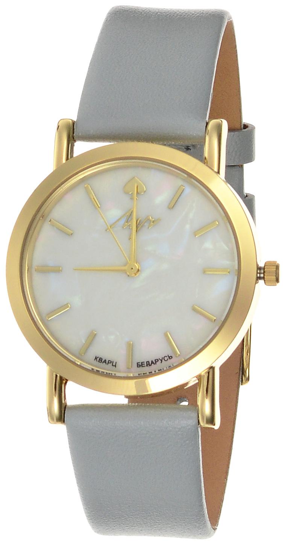 Часы наручные женские Луч Современная, цвет: золотой, серый, белый. 729107272 часы наручные женские луч  современная