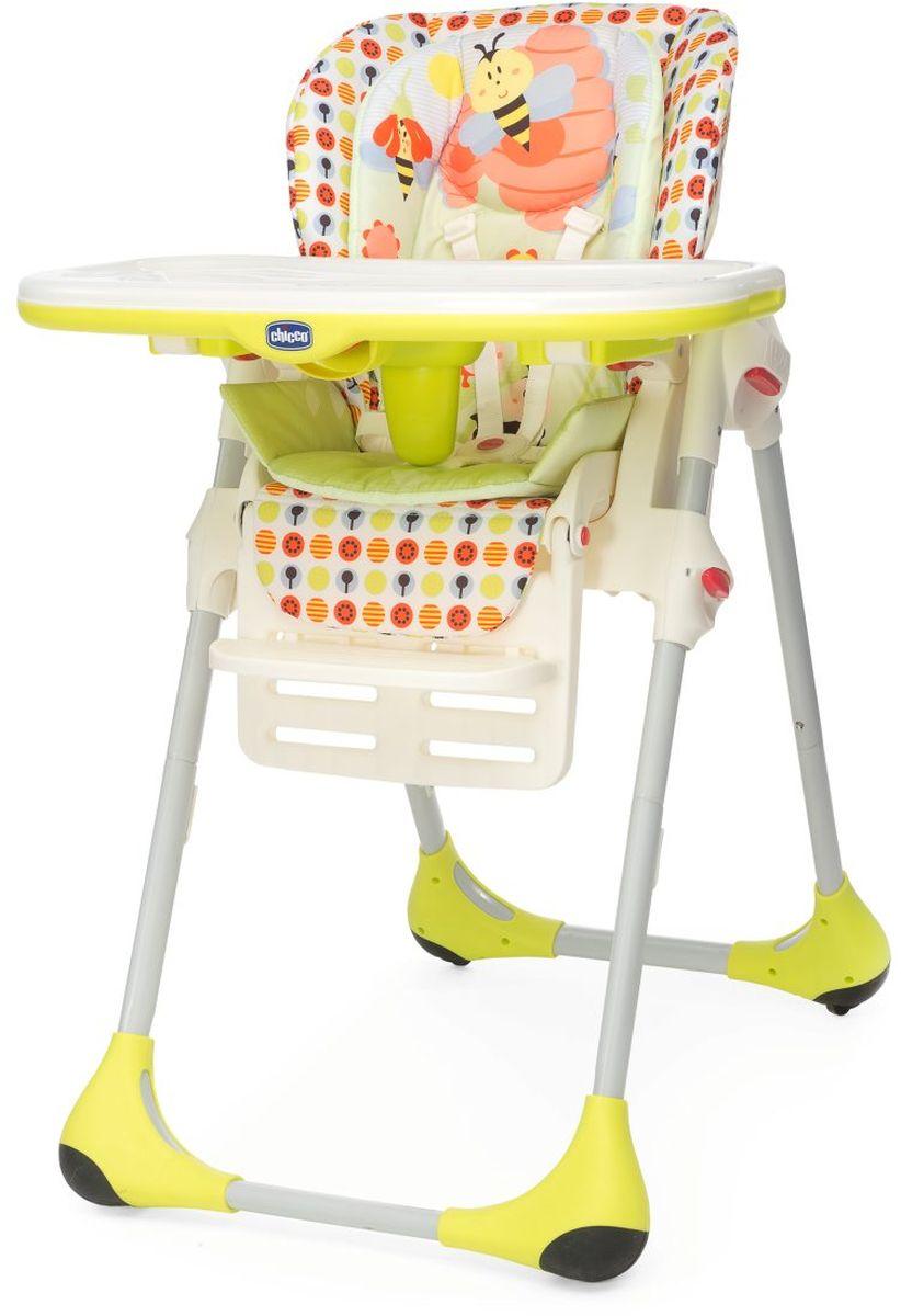Chicco Стульчик высокий Polly 2 в 1 Sunny05079074780000Chicco Polly 2 в 1 - это первый стульчик для кормления, разработанный таким образом, чтобы следовать за ростом ребенка, начиная с 6 месяцев до 3 лет. В течение первой фазы Polly является надежным, удобным и безопасным высоким стульчиком, идеальным в период отлучения от груди. Затем, когда ребенок научится есть самостоятельно, снимается верхний вкладыш, отсоединяется столик для кормления и игр, и стульчик Polly становится первым стулом вашего ребенка, позволяющим ему сидеть за общим столом с мамой и папой и разделять с ними этот важный момент каждый день.