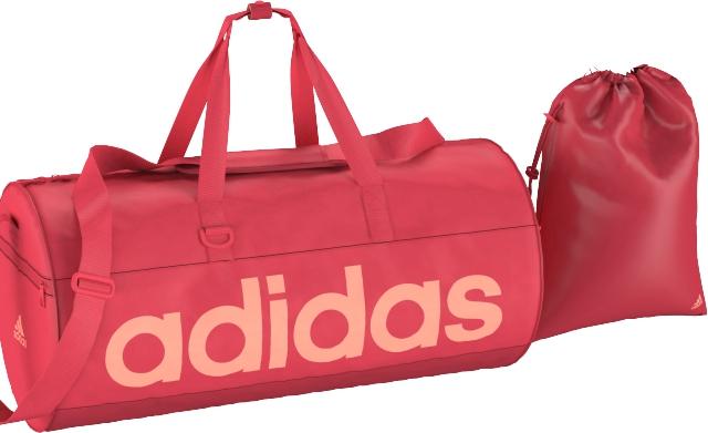 Сумка для фитнеса женская adidas W LIN PERF TB M, цвет: коралловый. AI9113AI9113СПОРТИВНАЯ СУМКА ESSENTIALS ВОЗЬМИ НА ТРЕНИРОВКУ ВСЕ НЕОБХОДИМОЕ. Удобная и стильная спортивная сумка. Модель с внутренними разделителями и отстегивающимся мешком для обуви поможет держать чистую экипировку отдельно от влажной после тренировки. Основное отделение на молнии; боковые карманы на молнии; внутренние разделители; отстегивающийся мешок для обуви Регулируемый наплечный ремень с мягкой подушечкой Крепкие двойные ручки с фиксатором на кнопку Логотип adidas Размеры: 29 см x 29 см x 60 см Рипстоп: 100% полиэстер