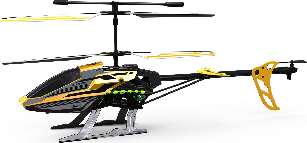 Silverlit Вертолет на на радиоуправлении847504х-канальный квадрокоптер со встроенной регулируемой видеокамерой. Возможность переворота на 360 градусов. Можно снимать во время переворота. Карта памяти SD 2Gb в комплекте. Размер квадрокоптера: 11х11 см