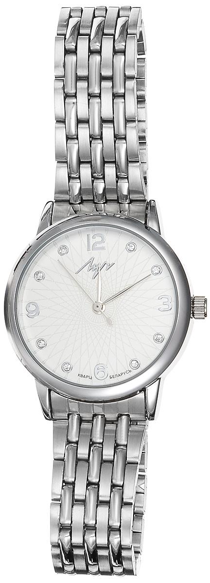 Часы наручные женские Луч Современная, цвет: серебряный. 729107278 часы наручные женские луч  современная