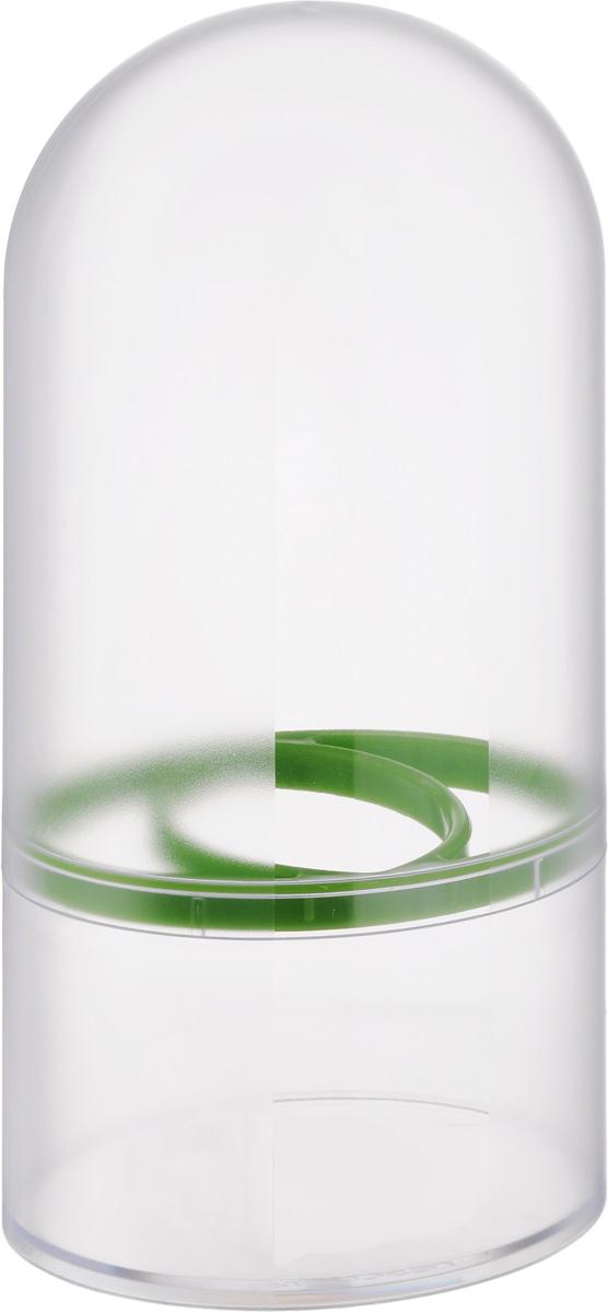 Емкость для хранения трав Tescoma Sense899020Емкость для хранения трав Tescoma Sense выполнена из высококачественного пластика. Именно благодаря этой уникальной емкости ваши травы будут сохраняться свежими круглый год. Только представьте себе, как будут смотреться на вашем кухонном столе пучки свежих трав. Это словно держать под рукой частичку лета. Внутри емкости создается отдельный микроклимат, который не позволяет распространяться плесени и бактериями. Вам больше не придется держать все свои специи засушенными. Можно мыть в посудомоечной машине.