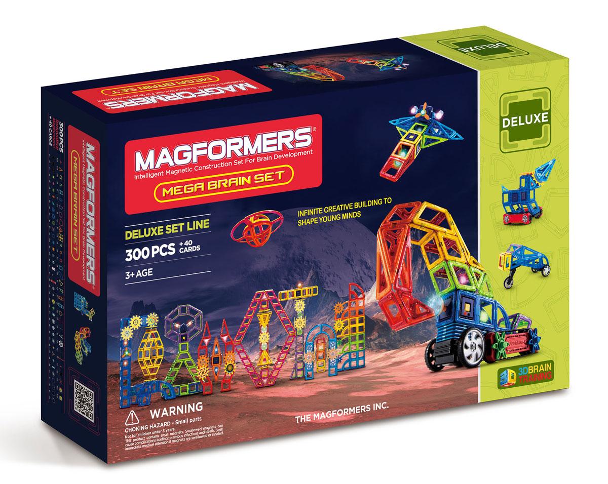 Magformers Магнитный конструктор Mega Brain