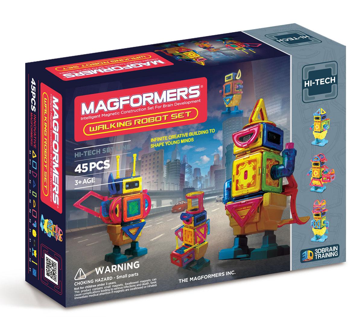 Magformers Магнитный конструктор Walking Robot63137