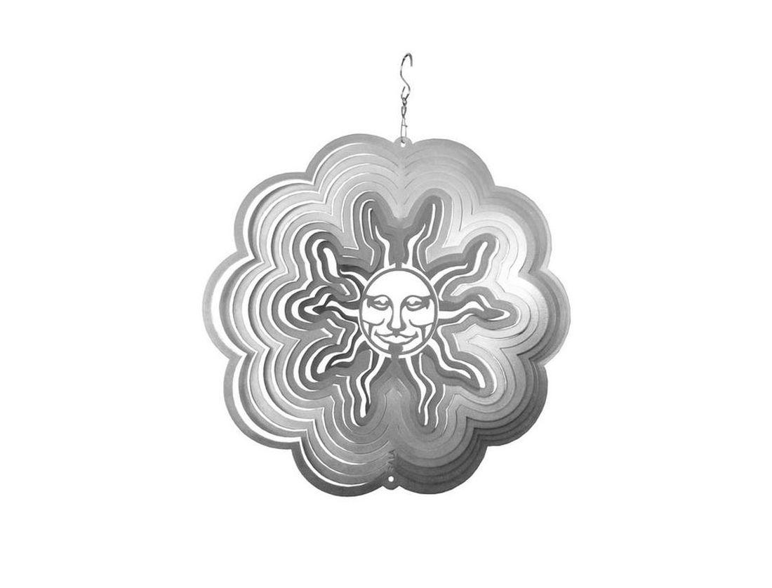 Фигурка садовая Gala Солнце, 13,0 х 13,4 смUS006-XУкрашение для сада наполнит ваш сад волшебным светом. Приводится в движение ветром, либо специальным устройством для вращения.