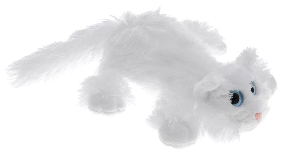 Gulliver Мягкая игрушка Котик Шалунишка цвет белый 22 см18-3001-4_белыйМягкая игрушка Gulliver Котик Шалунишка изготовлена из приятного на ощупь искусственного меха и набита комбинированным наполнителем. Забавный котик с большими голубыми глазками никого не оставит равнодушным. Специальные гранулы, используемые при ее набивке, способствуют развитию мелкой моторики рук малыша. Мягкие игрушки Gulliver действуют позитивно на растущий детский организм, улучшают настроение ребенка, развивают тактильную чувствительность, стимулируют зрительное восприятие, хватательные рефлексы.