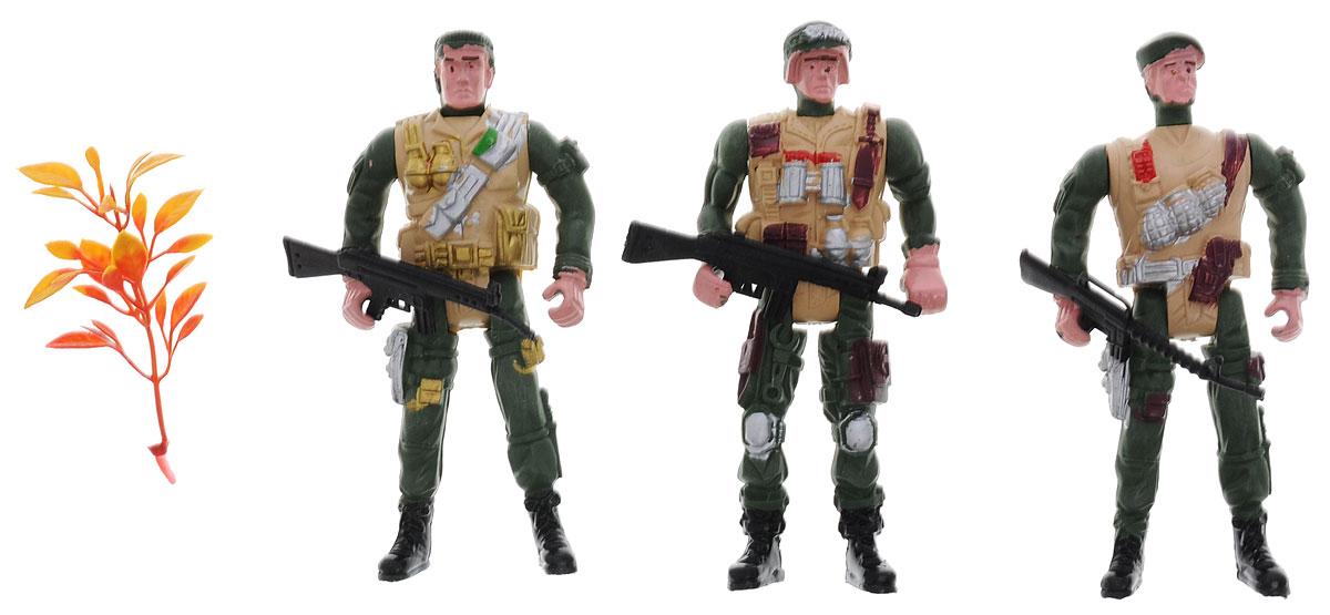 Shantou Набор солдатиков Combat Set 3 шт ( B1391216 )