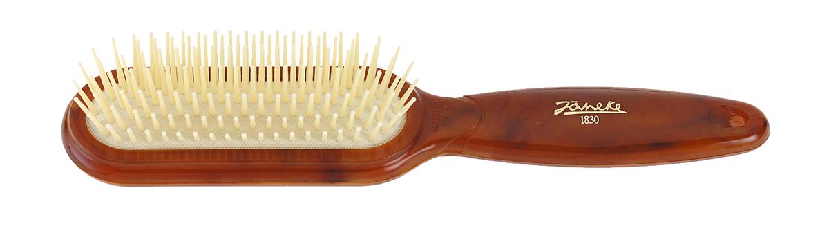 Janeke Щетка массажная, SP28.01 DBL543055Марка Janeke – мировой лидер по производству расчесок, щеток, маникюрных принадлежностей, зеркал и косметичек. Марка Janeke, основанная в 1830 году, вот уже почти 180 лет поддерживает непревзойденное качество своей продукции, сочетая новейшие технологии с традициями старых миланских мастеров. Все изделия на 80% производятся вручную, а инновационные технологии и современные материалы делают продукцию марки поистине уникальной. Стильный и эргономичный дизайн, яркие цветовые решения – все это приносит истинное удовольствие от использования аксессуаров Janeke. Пластиковая линия из высококачественного сырья, большое разнообразие моделей и цветов, кончик расчески специально закруглен, чтобы предотвратить разрыв волоса