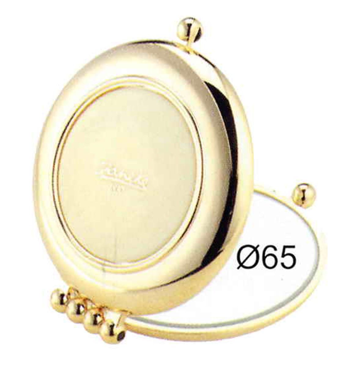 Janeke Зеркало карманное, линзы ZEISS, позолоченное, AU484.3 CRN.573233Марка Janeke – мировой лидер по производству расчесок, щеток, маникюрных принадлежностей, зеркал и косметичек. Марка Janeke, основанная в 1830 году, вот уже почти 180 лет поддерживает непревзойденное качество своей продукции, сочетая новейшие технологии с традициями ста- рых миланских мастеров. Все изделия на 80% производятся вручную, а инновационные технологии и современные материалы делают продукцию марки поистине уникальной. Стильный и эргономичный дизайн, яркие цветовые решения – все это приносит истин- ное удовольствие от использования аксессуаров Janeke. Компактные зеркала Janeke имеют линзы с обычным и трехкратным увеличением, которые позволяют быстро и легко поправить макияж в дороге. А благодаря стильному дизайну и миниатюрному размеру компактное зеркало Janeke станет любимым аксессуаром любой женщины.