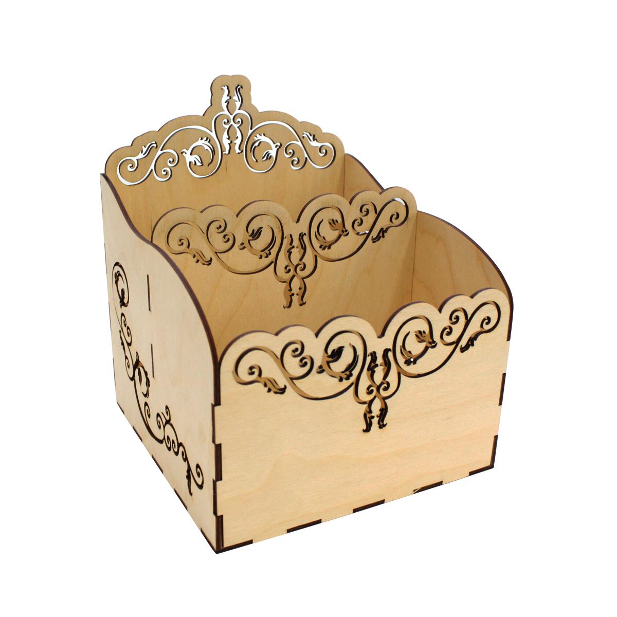 Деревянная заготовка Астра Узор, подставка для салфеток , 22 x 18 x 18 см484598Вашему вниманию предлагается заготовка из дерева бренда Астра. Деревянные заготовки — отличный объект для вашего творчества, а также воплощения самых креативных задумок и идей. Дерево - материл, который прекрасно подходит для декупажа, декорирования бисером, росписи и так далее.
