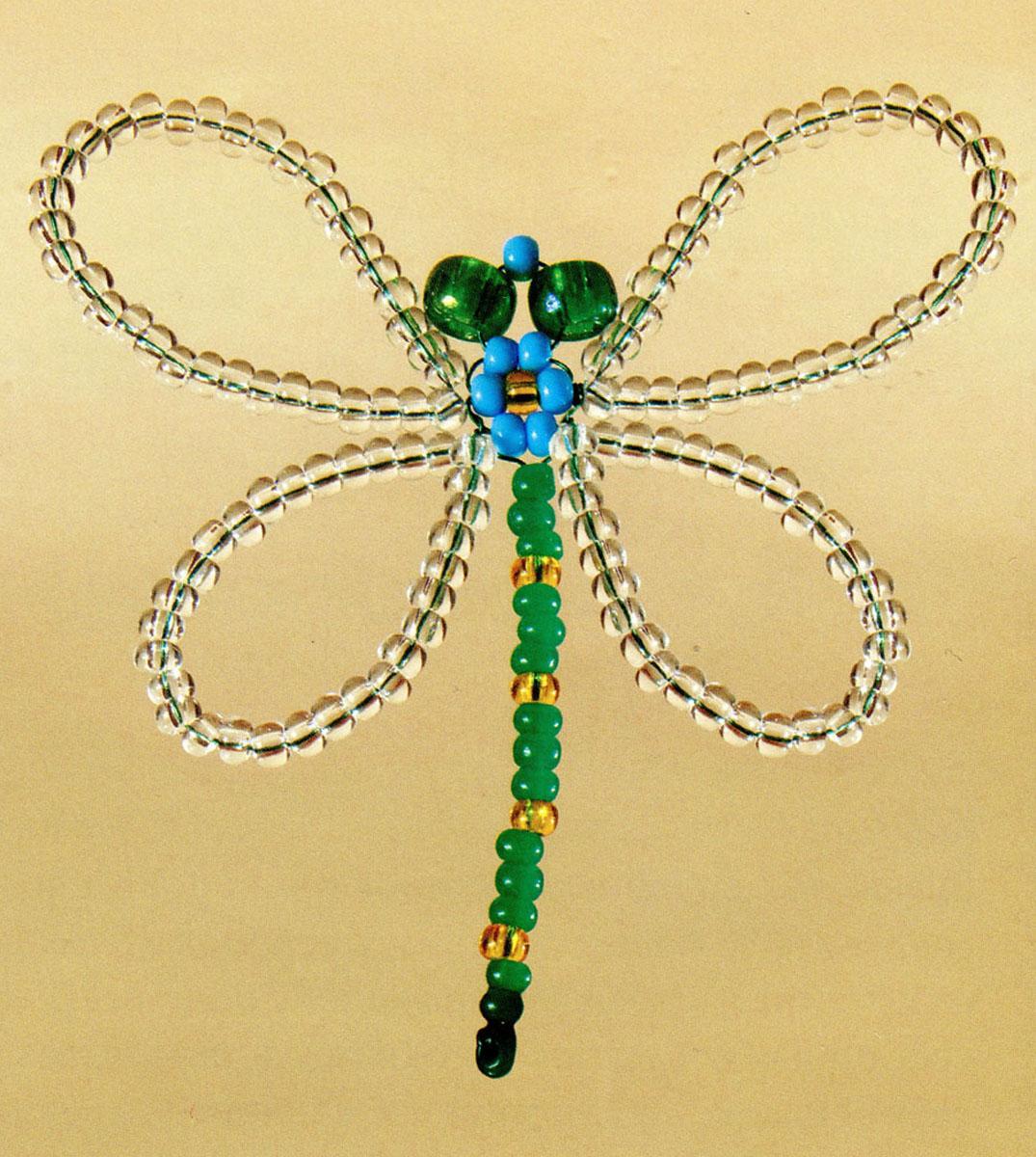 Набор для бисероплетения Чаривна Мить, 9 х 7,5 см348700Состав набора: проволока - 1 цвет, бисер Чехия - 4 цвета, схема-инструкция