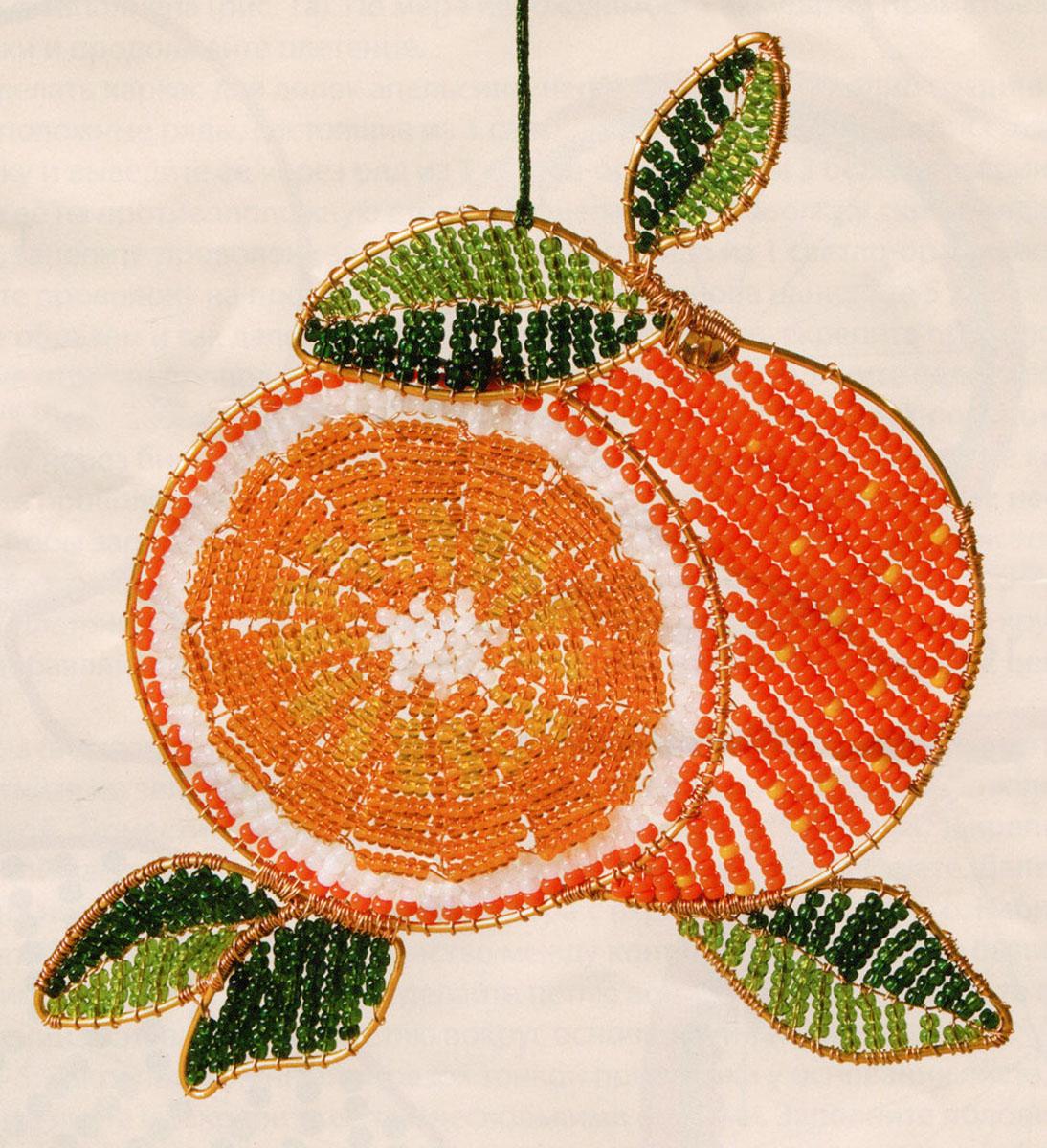 Набор для бисероплетения Чаривна Мить, 11 х 11 см. БП-73348710Состав набора: проволока - 1 цвет, бисер Чехия - 6 цветов, метализированное мулине - 1 цвет, схема-инструкция