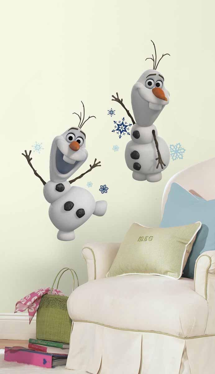 RoomMates Наклейки для декора Снеговик Олаф Холодное сердце