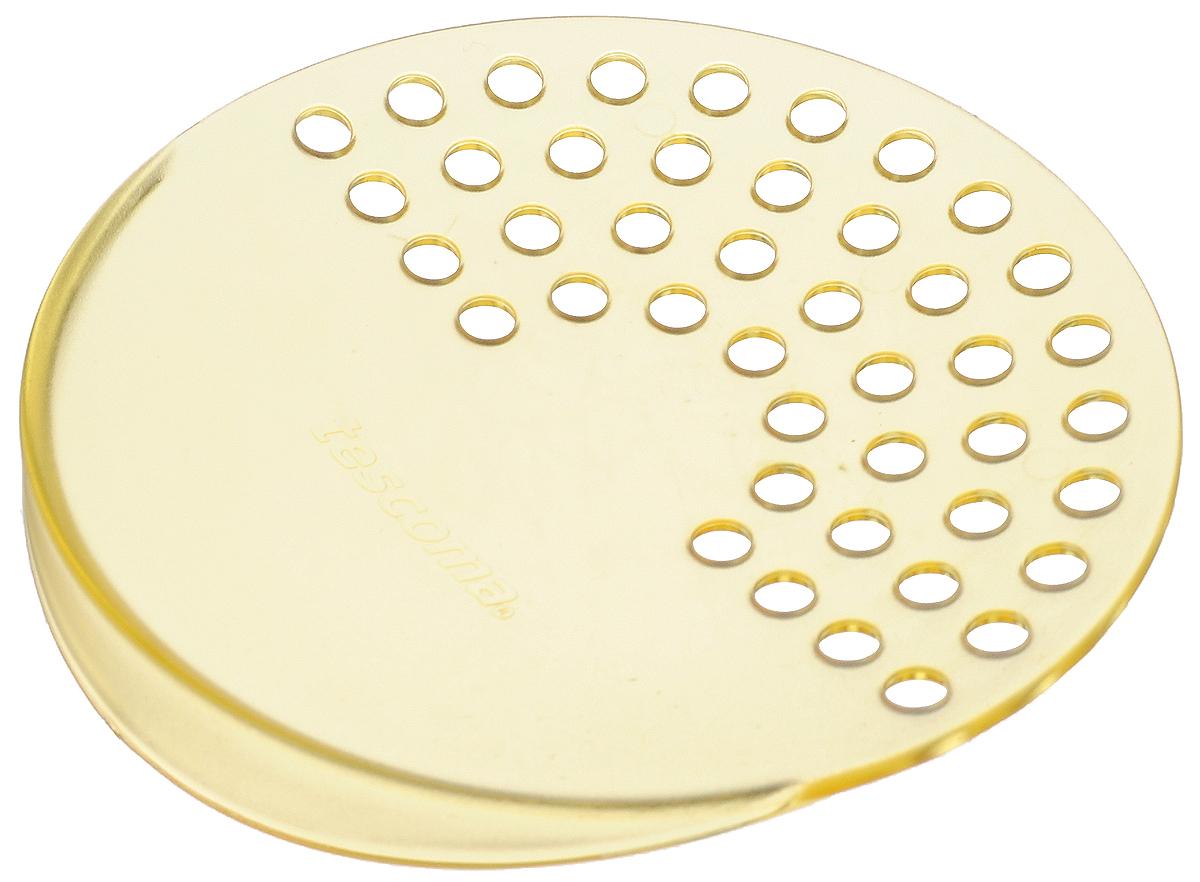 Дуршлаг для консервных банок Tescoma Presto, цвет: желтый, диаметр 10,5 см420615_желтыйДуршлаг Tescoma Presto изготовлен из высококачественного пластика. Он прекрасно подходит для легкого процеживания пищи из консервных банок, либо посуды небольшого диаметра. Можно мыть в посудомоечной машине. Диаметр: 10,5 см.
