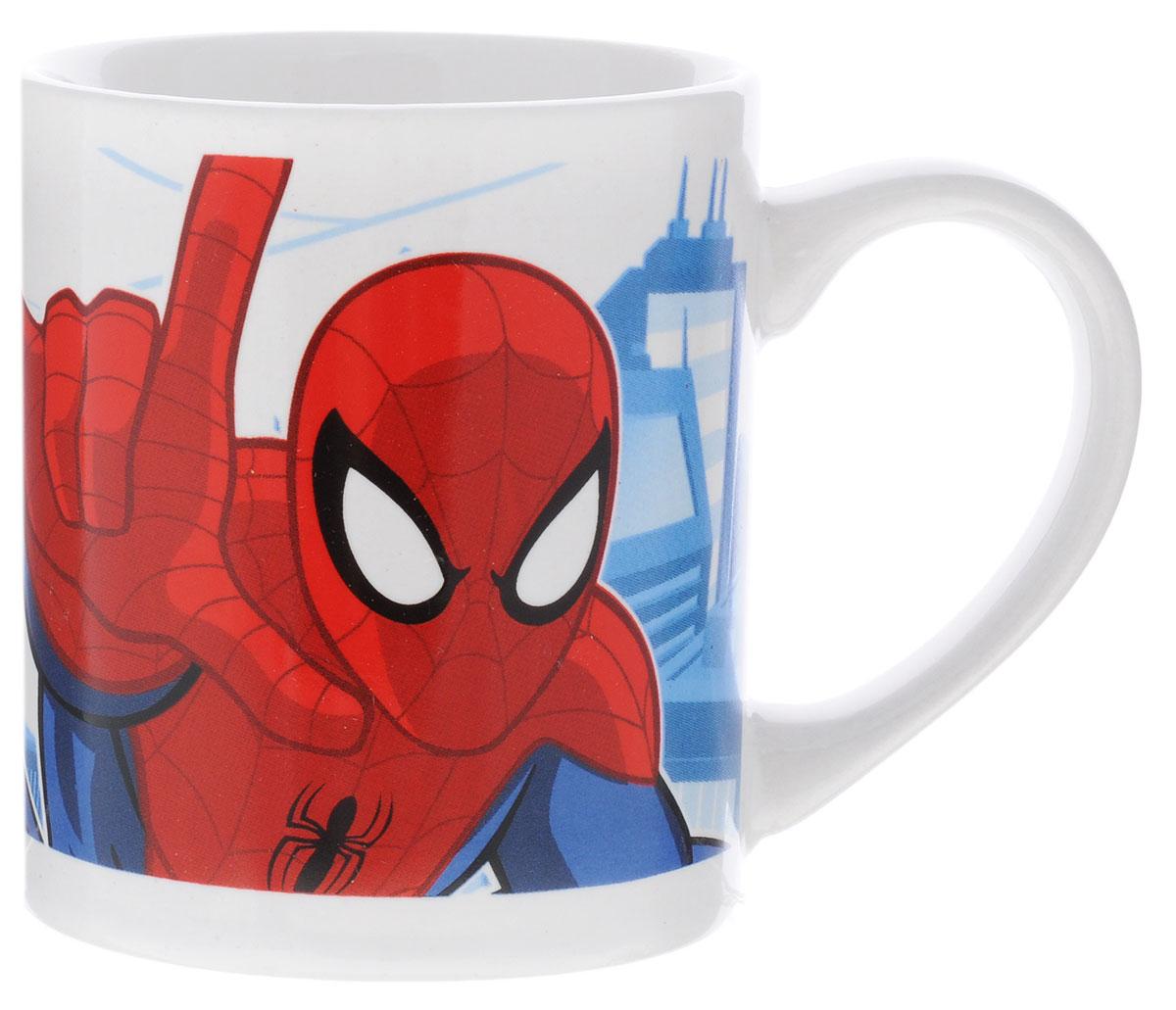 Stor Кружка детская Великий Человек-паук 220 мл70538Детская кружка Stor Великий Человек-паук из серии Stor Marvel с любимым героем станет отличным подарком для вашего ребенка. Она выполнена из керамики и оформлена изображением Человека-паука. Кружка дополнена удобной ручкой. Такой подарок станет не только приятным, но и практичным сувениром: кружка будет незаменимым атрибутом чаепития, а оригинальное оформление кружки добавит ярких эмоций и хорошего настроения. Можно использовать в СВЧ-печи и посудомоечной машине.