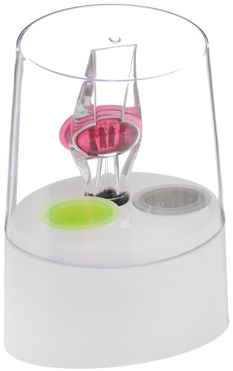 Аэратор для вина Tescoma Rosso, на подставке695464Аэратор Tescoma Rosso, изготовленный из прочного пластика, быстро и эффективно осуществляет аэрацию белого и красного вина во время разливания в бокалы. Вино мгновенно приобретает полный развернутый вкус и аромат. Зеленый клапан предназначен для белых вин, красный клапан - для красных вин, а серый клапан служит воронкой. Мыть в посудомоечной машине. Размер подставки: 12,5 х 8,3 х 16,5 см. Длина аэратора: 15 см. Размер клапанов: 4,5 х 3 х 2 см.