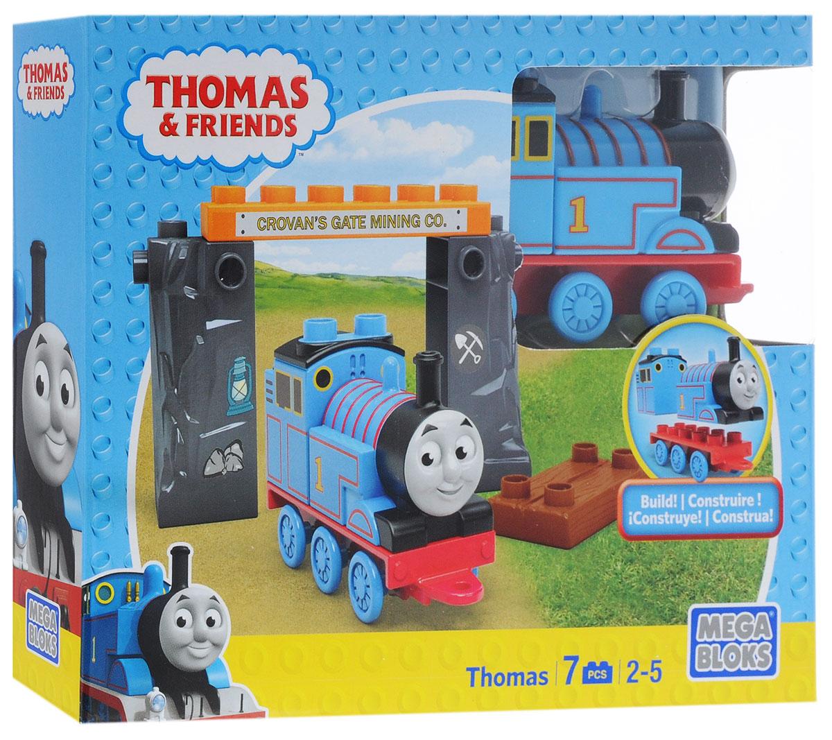 Mega Bloks Thomas & Friends Конструктор Паровозик Томас и шахтаCNJ04_DLC14Конструктор Mega Bloks Паровозик Томас - удивительный подарок для вашего ребенка! Конструкторы Mega Bloks - это новые горизонты творчества. Каждый из наборов - это завершенная конструкция, имеющая некий сюжет. Этот конструктор входит в серию наборов Thomas & Friends, созданных по одноименному мультфильму. Томас и его верная команда помогают жителям городка: привозят почту, чинят железнодорожные пути и возят пассажиров к пунктам назначения. Ваш маленький машинист с удовольствием отправится в шахты вместе с Томасом. Все элементы конструктора совместимы с другими сборными паровозами из этой серии. Воссоздайте для своего маленького машиниста его любимые истории о приключениях паровозиков острова Содор или придумайте свою собственную.