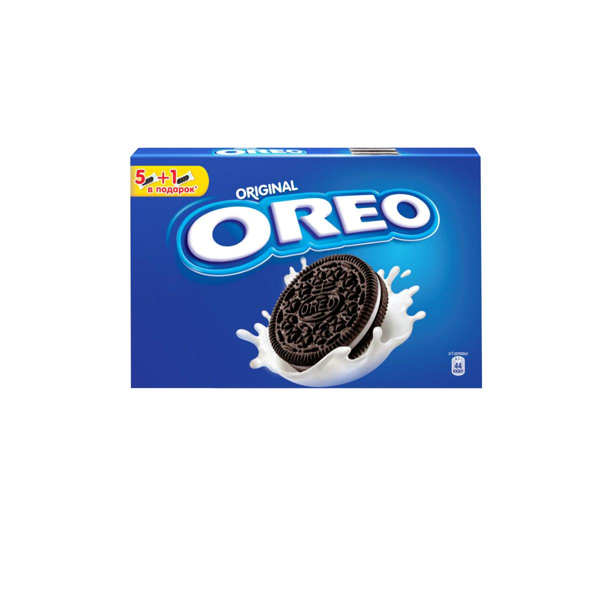 Печенье Oreo любит весь мир! Взрослым и детям нравится забавный способ которым едят Орео. Покрути+Лизни+Обмакни=Орео. Попробуйте, это весело и очень легко. Печенье с какао и начинкой с ванильным вкусом безусловно порадует и детей и взрослых!