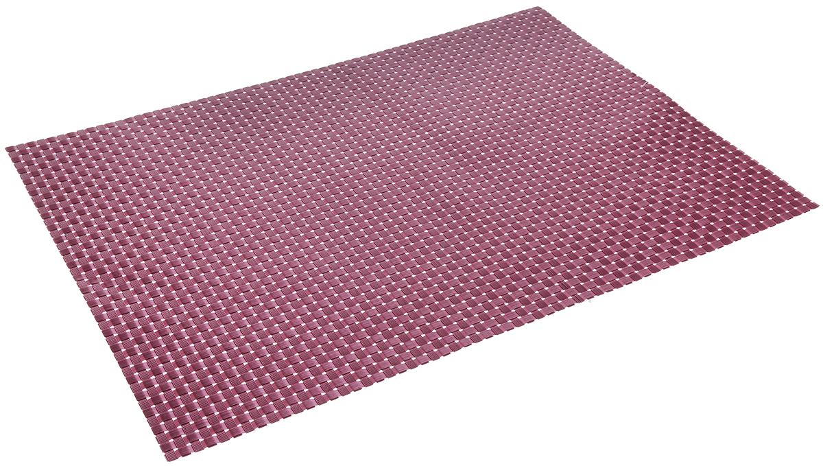 Салфетка сервировочная Tescoma Flair. Shine, цвет: лиловый, 45 x 32 см662064Элегантная салфетка Tescoma Flair. Shine, изготовленная из прочного искусственного текстиля, предназначена для сервировки стола. Она служит защитой от царапин и различных следов, а также используется в качестве подставки под горячее. После использования изделие достаточно протереть чистой влажной тканью или промыть под струей воды и высушить. Не мыть в посудомоечной машине, не сушить на батарее. Размер салфетки: 45 х 32 см.
