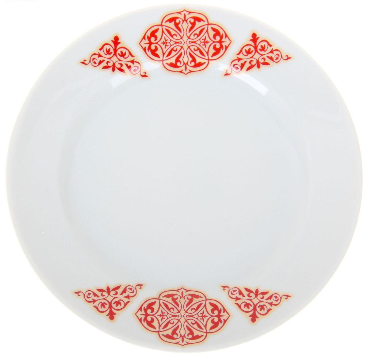 Тарелка мелкая Идиллия. Восточный, диаметр 17 см1224522